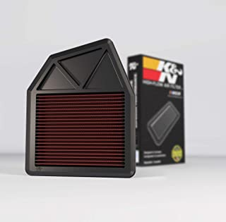 K&N Engine Air Filter: High Performance, Premium, Washable, Replacement Filter: 2008-2015 Honda Accord and Crosstour, 33-2402