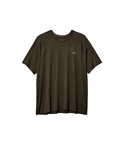 The North Face Hyperlayer FD Short-Sleeve Crew (New Taupe Green Heather) Men