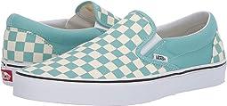 (Checkerboard)Aqua Haze/True White