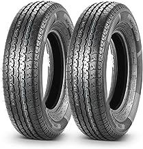 Set of 2 Radial DOT Trailer Tires ST 205/75R15 205 75R15 8PR/Load Range D 107/102L