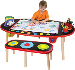 Alex Artist Studio Super Art Table with Paper Roll Kids Art Supplies