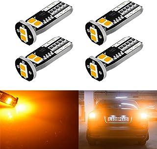 Impermeable KaTur Redondo /ámbar 24 LED Rotulador de luz de Freno Trasero para Cami/ón y Motocicleta Reflectante para Bicicleta