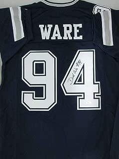 Cowboys Demarcus Ware Autographed Signed Custom Jersey Auto - 7 X Pro Bowler - JSA