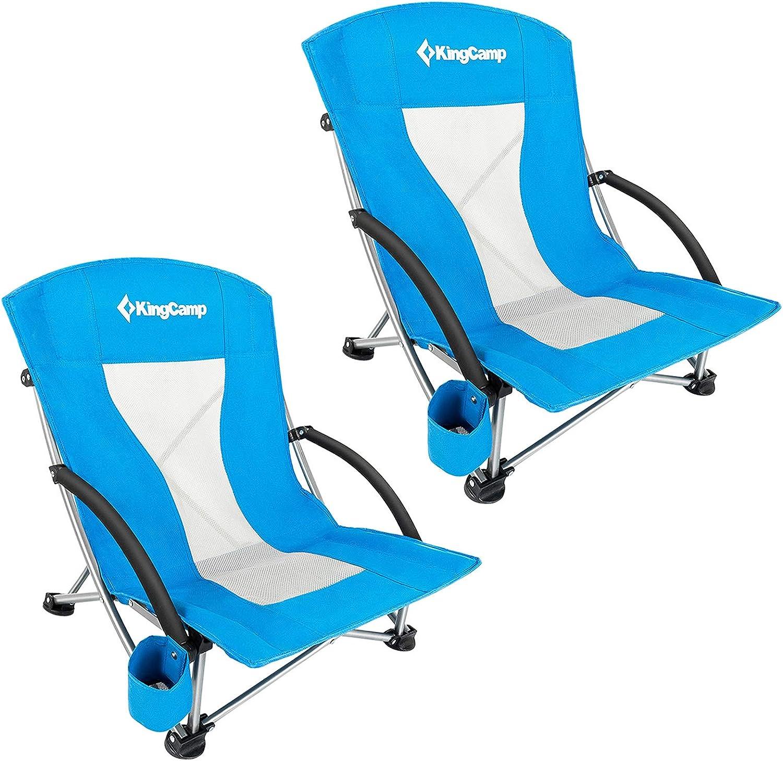 ingCamp Camping High Back Beach Philadelphia Mall Regular discount Chair Folding Concert Ch