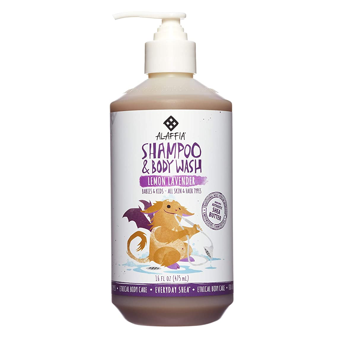 許可するペック外部Alaffia Everyday Shea Shampoo & Body Wash for Babies and Up Lemon Lavender 16 oz Size: 16 oz CustomerPackageType: Standard Packaging, Model: C580, Baby & Child Shop by Baby & Child Shop
