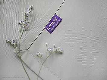 Lot de 4 Sets de Table Lemos-Home Environ 46 x 36 cm en Coton Plusieurs Couleurs Vert fonc/é