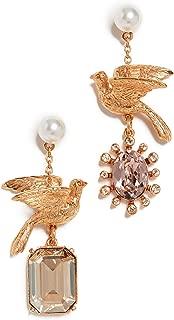 Best oscar de la renta rose gold earrings Reviews