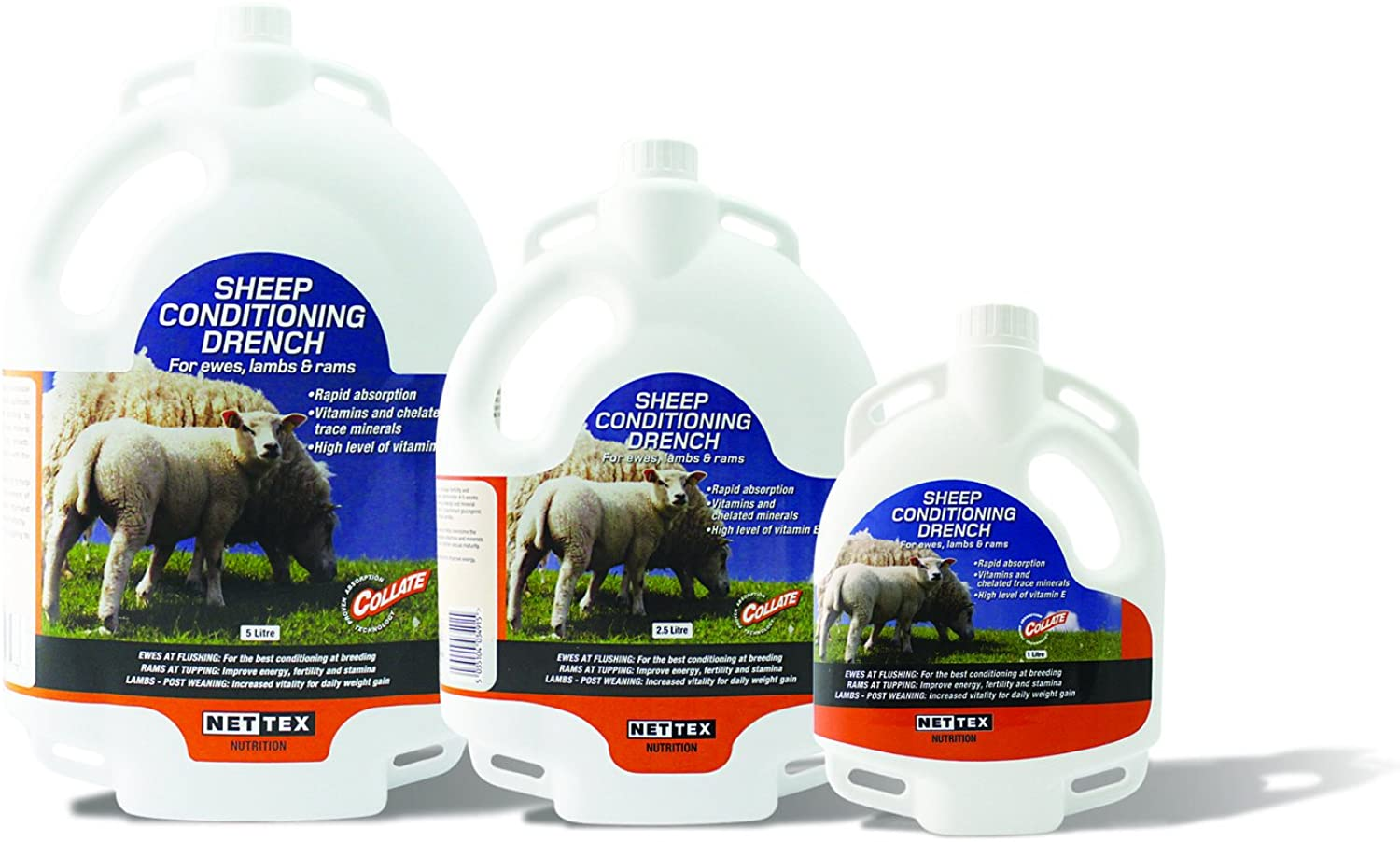 NetSheep Conditioning Drench  2.5 Litre