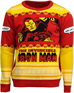 Official Invincible Iron Man Christmas Jumper/Ugly Sweater