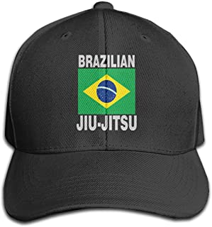 Unisex Brazilian Jiu Jitsu Cotton Denim Baseball Hat, Adjustable Dad Hat