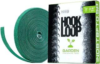 VViViD Hook N' Loop Self-Adhesive Garden Management Strip 1/2 Inches x 18 Feet Roll