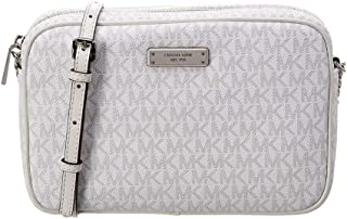 MICHAEL Michael Kors Large East/West Crossbody Bright White One Size