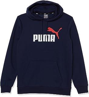 PUMA ESS+ 2 Col Big Logo Hoodie Fleece