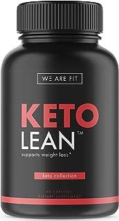 Keto Lean - Ketogenic Supplement - Includes Garcinia Cambogia, Green Tea & More, 60 Veggie Caps