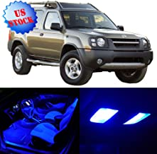 SCITOO LED Interior Lights 8pcs Blue Package Kit Accessories Replacement for 2002-2004 Nissan Xterra
