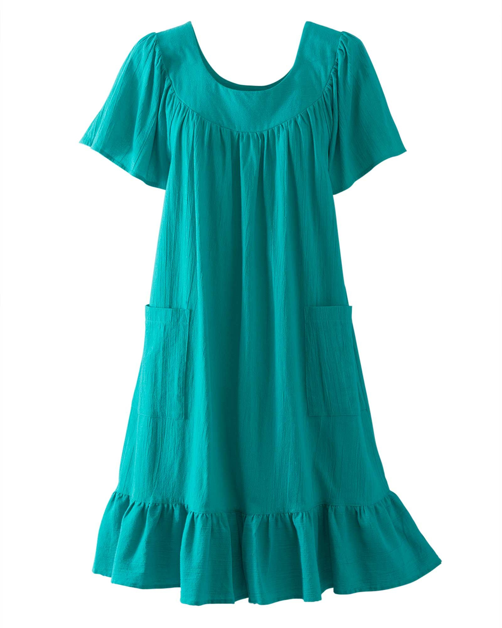 Available at Amazon: National Crinkle Cotton Dress