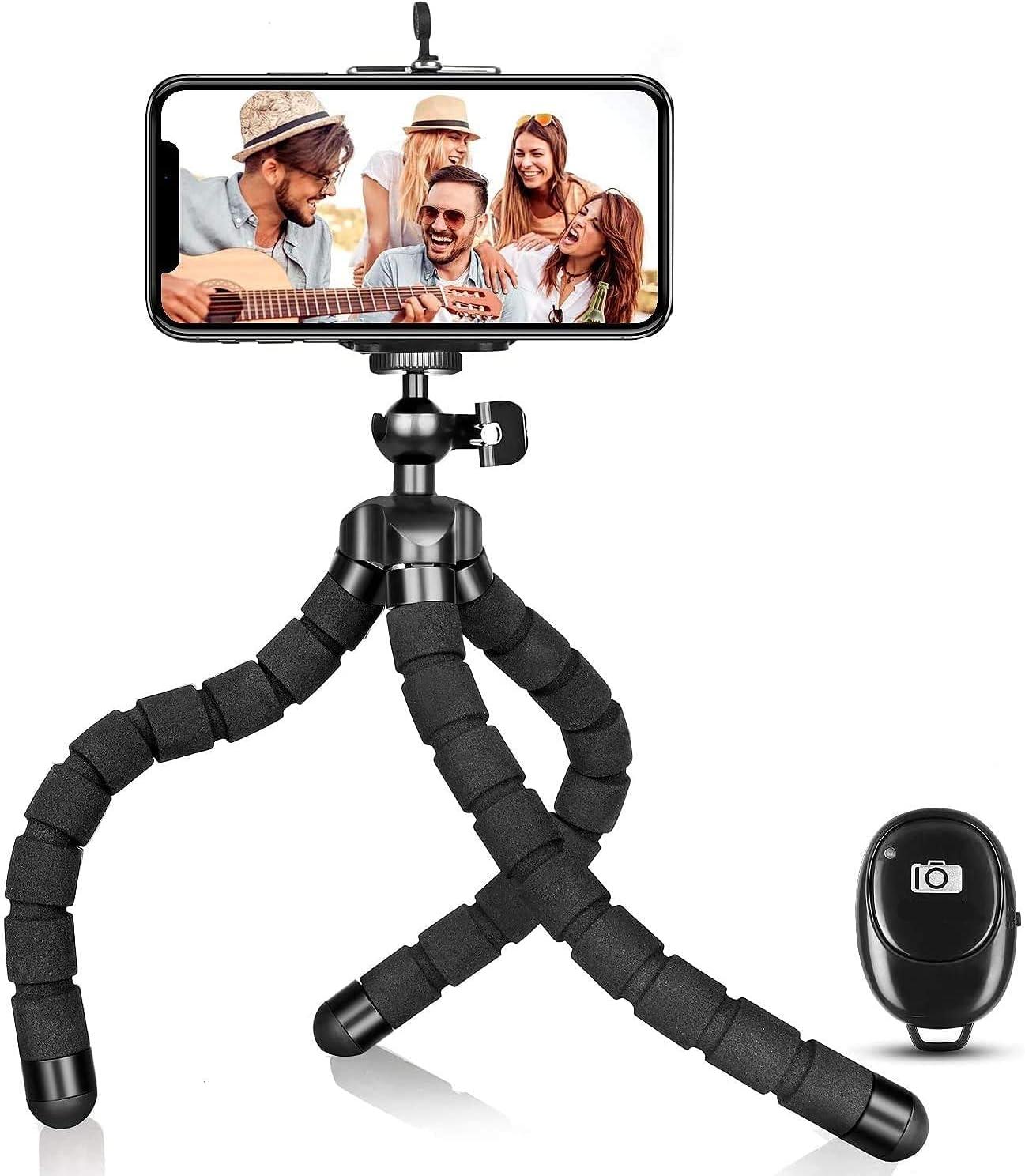 Flexible Camera/ Mobile Phone Tripod Stand, Camera/ Phone Mini Tripod,