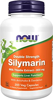 NOW Foods Silymarin/Milk Thistle Extract 2X - 300Mg 200 Vcaps