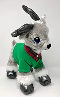 Reindeer Build A Bear Holiday with Green and Red Shirt