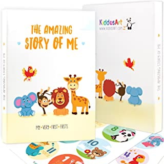 Limited Promo: The Amazing Baby Memory Book by KiddosArt. Keepsake Journal | Scrapbook | Photo Album, Record Memories and ...
