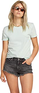 Volcom Women's One of Each Short Sleeve Crew Neck Tee