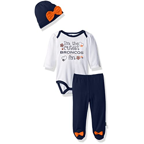 7c18519eab3 Baby Denver Broncos Apparel  Amazon.com
