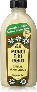 Monoi Tiare Tahiti Santali Sandalwood Coconut Oil