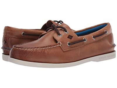 Sperry A/O 2-Eye Plush (Tan) Men