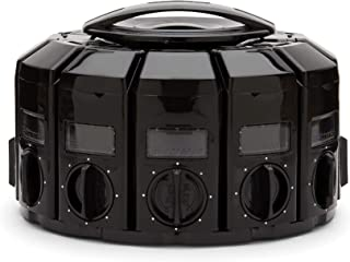 Kitchen Art 25003 Select-A-Spice Auto-Measure Carousel 12 Compartments Black
