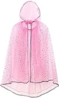 JerrisApparel Girls Hooded Cloak Princess Unicorn Costume Cape Pretend Play Dress up