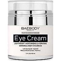 Baebody Eye Cream 1.7 Ounces with Rosehip & Hibiscus