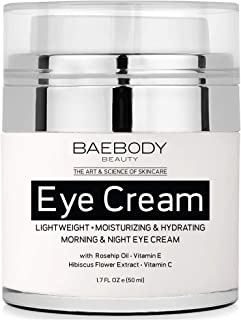 Baebody Eye Cream with Rosehip & Hibiscus, 1.7 Ounces