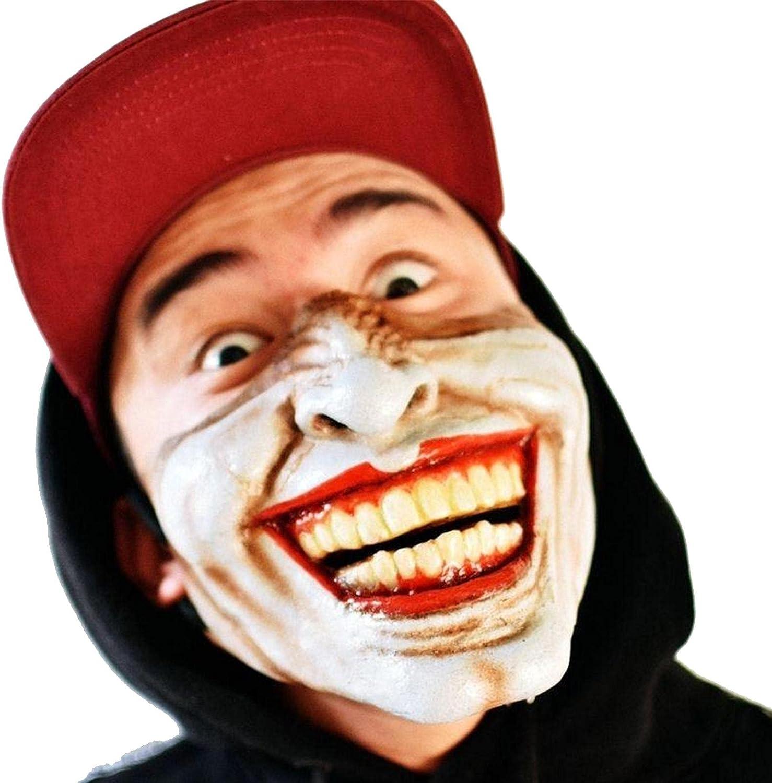 Media Máscara Halloween Máscara Mandíbula Calavera Terror Disfraz Media Mascarilla Máscara Dientes Terror Media Cara Accesorios Disfraces Cosplay Terror Para La Decoración De La Fiesta Halloween