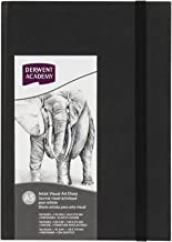 DERWENT(R) R31300F Academy CASEBOUND Visual Art Diary, A5 Portrait (128 Pages)