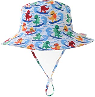 Home Prefer Kids UPF50+ Safari Sun Hat Breathable Bucket...