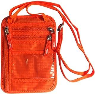 Tramo パスポートケース 首下げ スキミング防止 ネックポーチ 海外旅行 便利 貴重品入れ