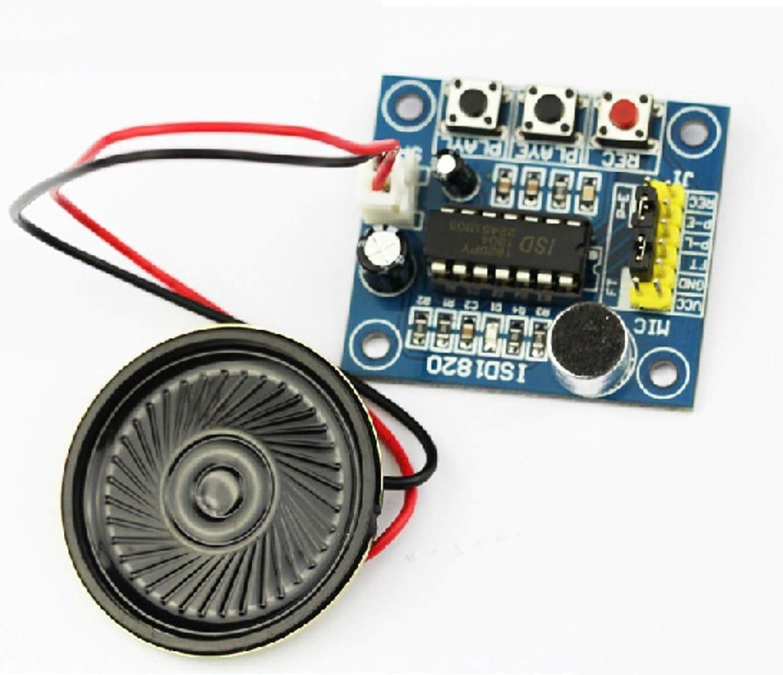 Voice Recorder Module Kit Microfono Audio Speaker ISD1820 10s Voice Board Voice Module