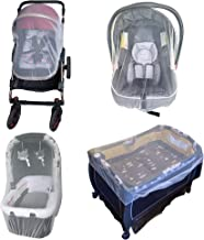 Enovoe Baby Mosquito Net for Stroller - Durable Stroller Mosquito Net - Perfect Bug Net for Stroller, Car Seats, Bassinets, Cradles, Playards, Pack N Plays and Portable Mini Crib