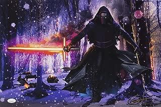 Star Wars Kylo Ren 19x13 Ltd Ed Lithograph Signed By Greg Horn JSA