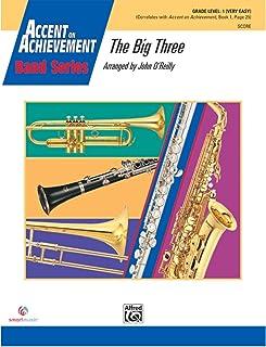The Big Three - Arr. John O'Reilly