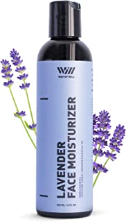 Lavender Face Moisturizer, Facial Moisturizer with Calming Lavender Essential Oil, Face Cream for Women and Men, For All Skin Types, Sulfate and Paraben Free, 120 mL - Way of Will