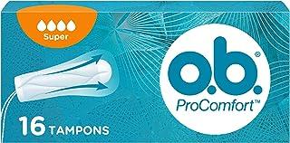 o.b. ProComfort® Super tampons met Dynamic Fit™ -technologie en SilkTouch oppervlak, voor ultiem comfort* en betrouwbare b...