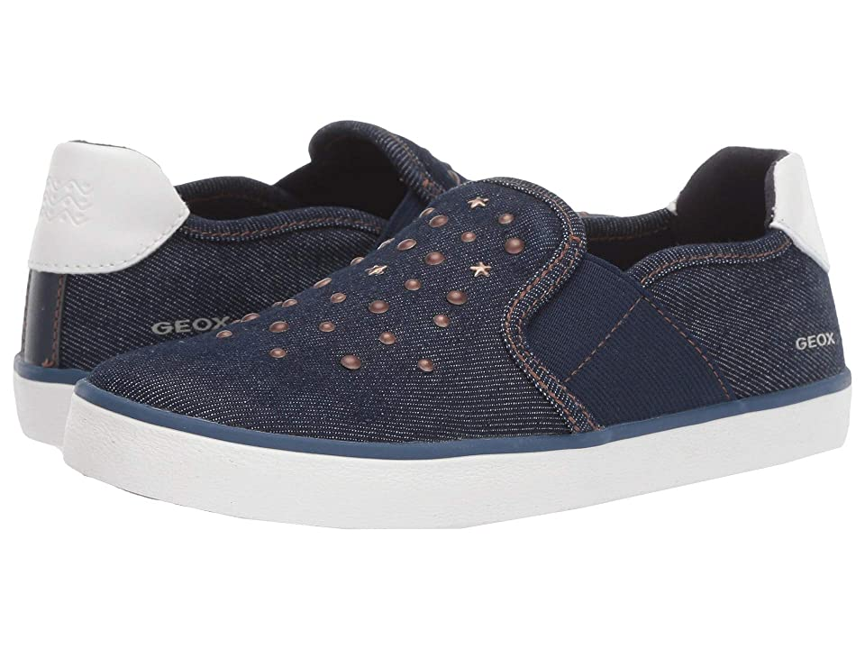 Geox Kids Kilwi Girl 51 (Little Kid/Big Kid) (Navy) Girl