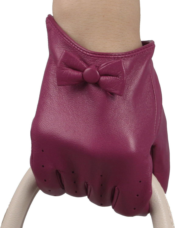 Mandy's Women's Winter Genuine Nappa Leather Gloves