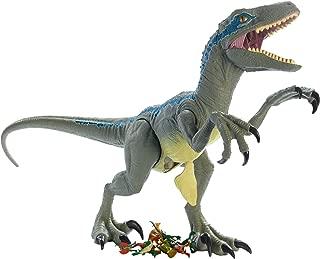 Jurassic World Super Colossal Velociraptor Blue