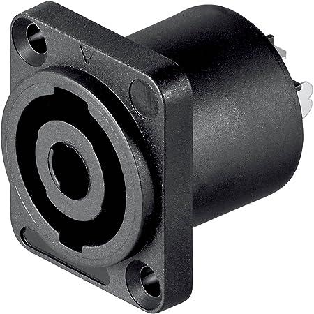 10 Stück Pa Lautsprecher Einbaukupplung Eckig 4 Polig Computer Zubehör
