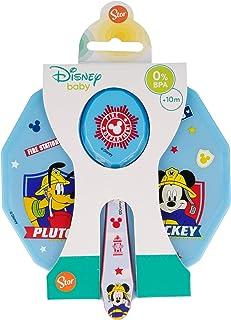 Disney bord met deksel en lepel Mickey Mouse - Disney To The Rescue