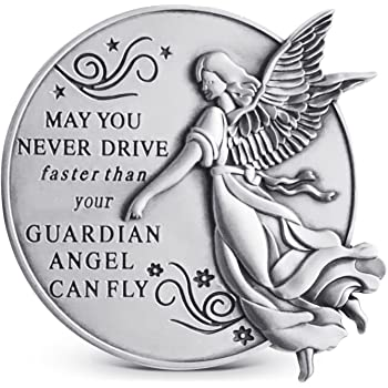 Son Guardian Angel Visor Clip NEW 2.5 Inches 15683