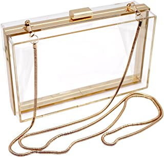 Luxury Acrylic Fashionable Transparent Evening Clutches Shoulder Bags Handbag for Women Ladies Gift Ideal