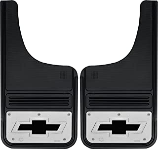 Gatorback Chevy Silverado Bowtie Truck Mud Flaps - Front or Rear Pair